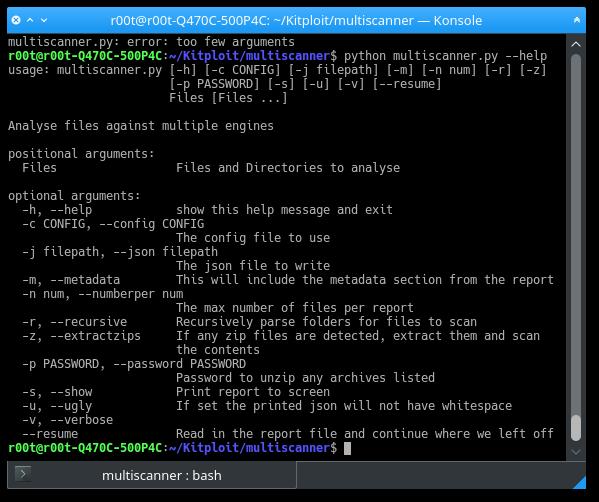 multiscanner MultiScanner - Modular File Scanning/Analysis Framework Technology