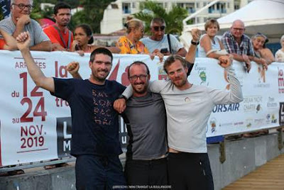 Podium Mini Transat 2019