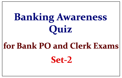 Important Banking Awareness Quiz set-2