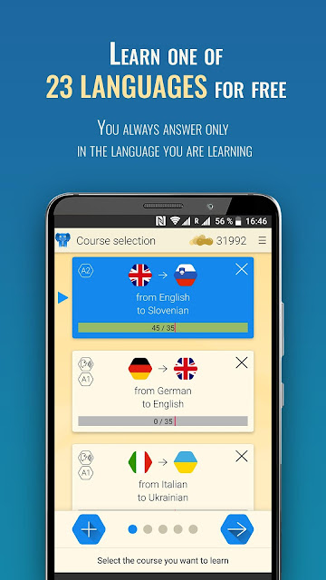Qlango Learning French, Spanish, German and more 1.045.apk