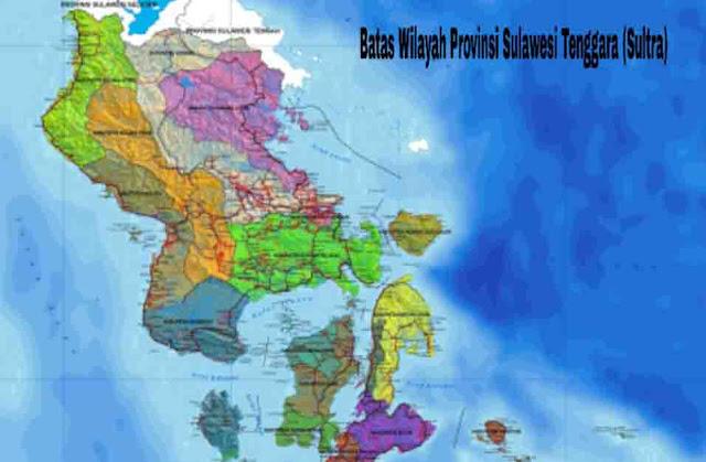 Batas Wilayah Sulawesi Tenggara