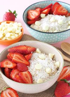 Fancy Strawberry Oats