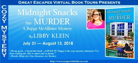 5a8cdd536d Libby Klein's Midnight Snacks Are Murder Blog Tour with a Spotlight and  Giveaway