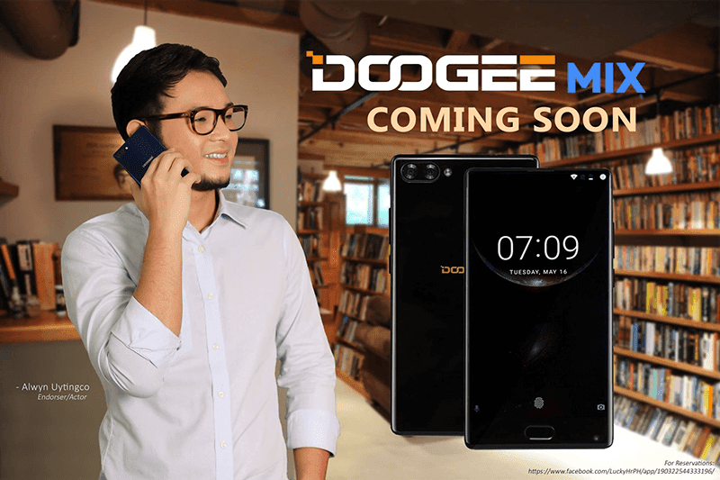 Doogee Mix With Near Bezel-less Screen Is Coming In PH