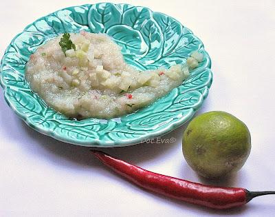Kohlrabi Guacamole