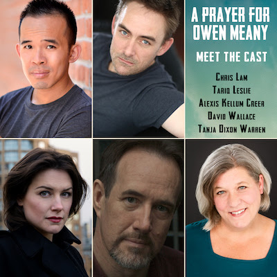 soul food vancouver: a prayer for owen meany | meet the cast part one