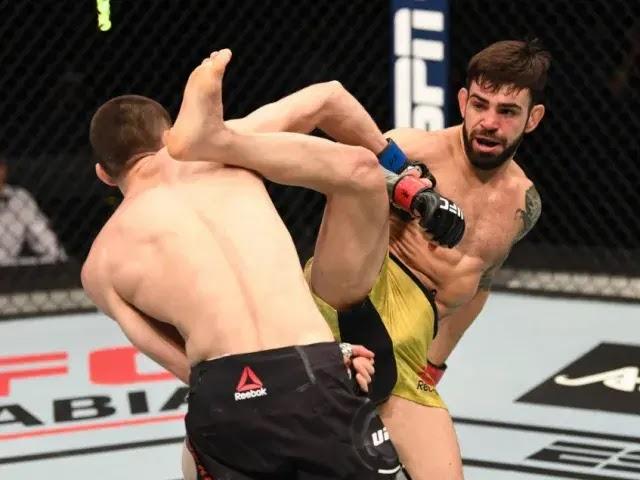 Kalahkan pertarungan kelas terbang UFC Fight Island 5, Tagir Ulanbekov melakukan debut sempurna UFC