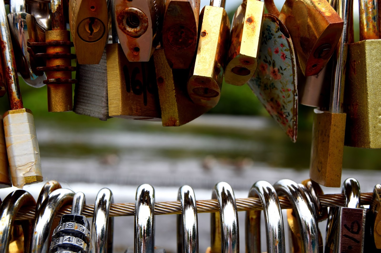 Love Locks In Bakewell: Love Locked In