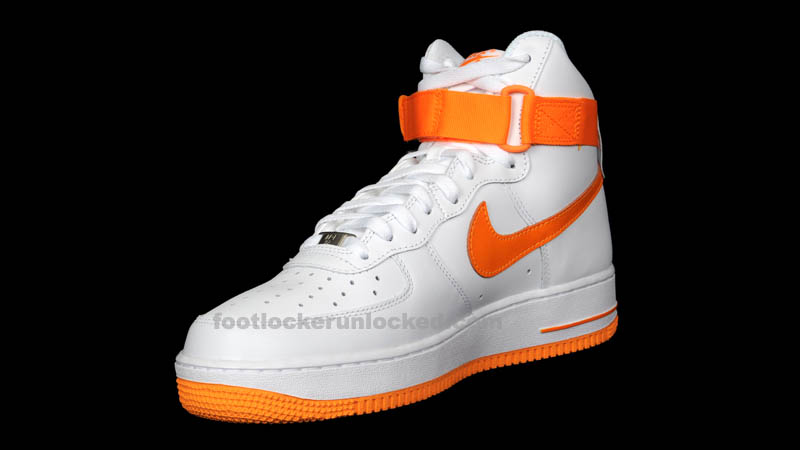 f663ef50cc38e2 ... Nike Air Force 1 White And Orange ...