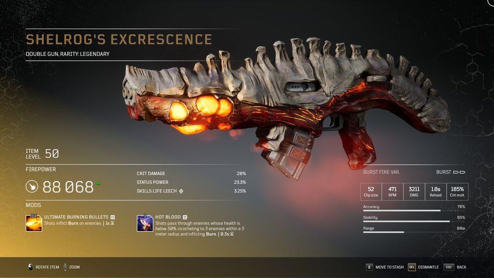 Shelrog's Excrescence