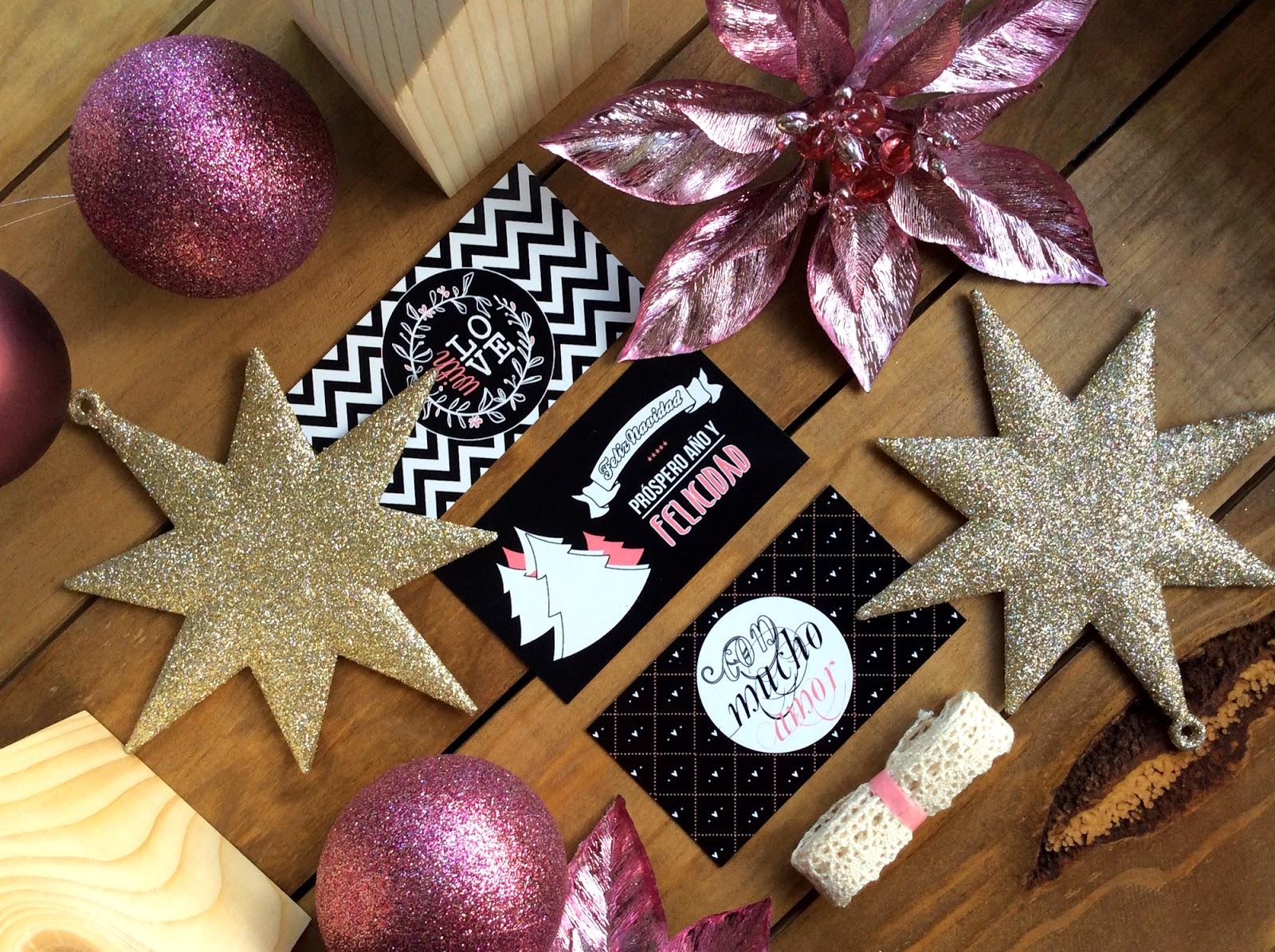 kit diy craft sello navidad hermanas bolena