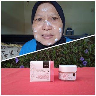 Penggunaan Brightly Ever After Cream Day