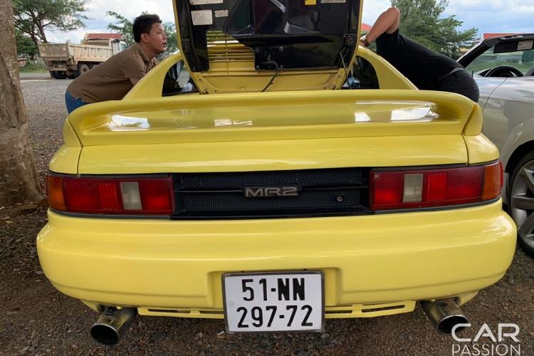 Khám phá Toyota MR2 1991 hàng hiếm tại Việt Nam