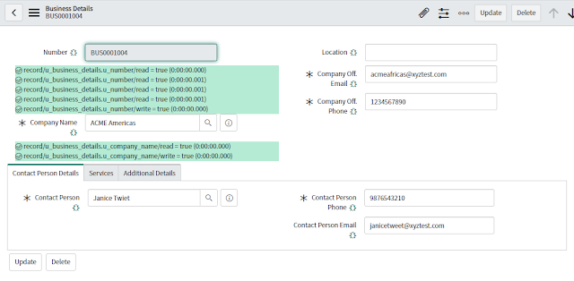 ServiceNow Debug ACL