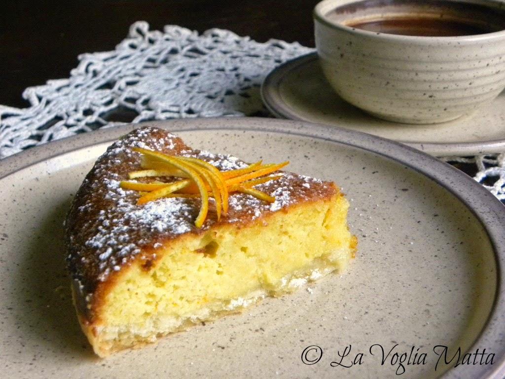 sformato di pane al profumo d'arancia