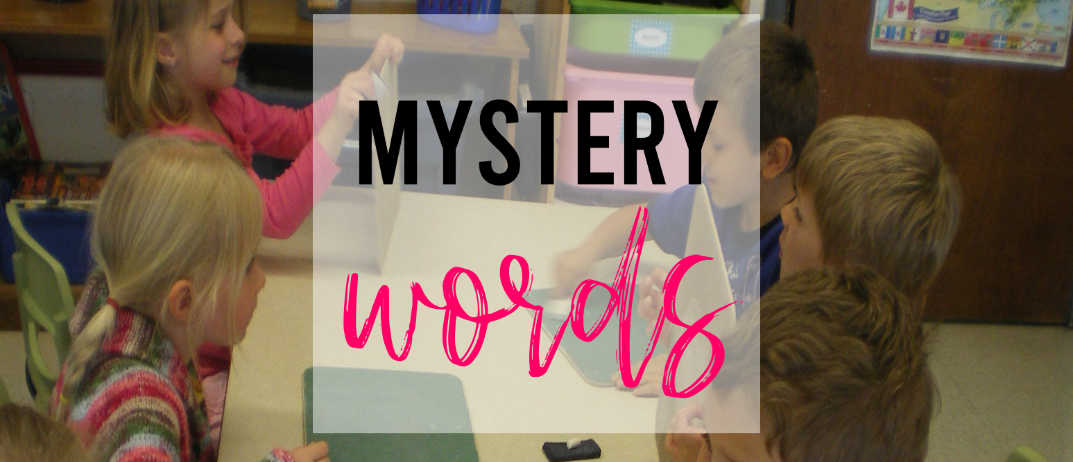MYSTERY WORD Word Wall Game and FREE WORDO Sight Word Activity! Fun ideas to practice sight words and word work in Kindergarten and First Grade. #kindergarten #centers #literacy #wordwork #sightwords #1stgrade #kindergartencenters