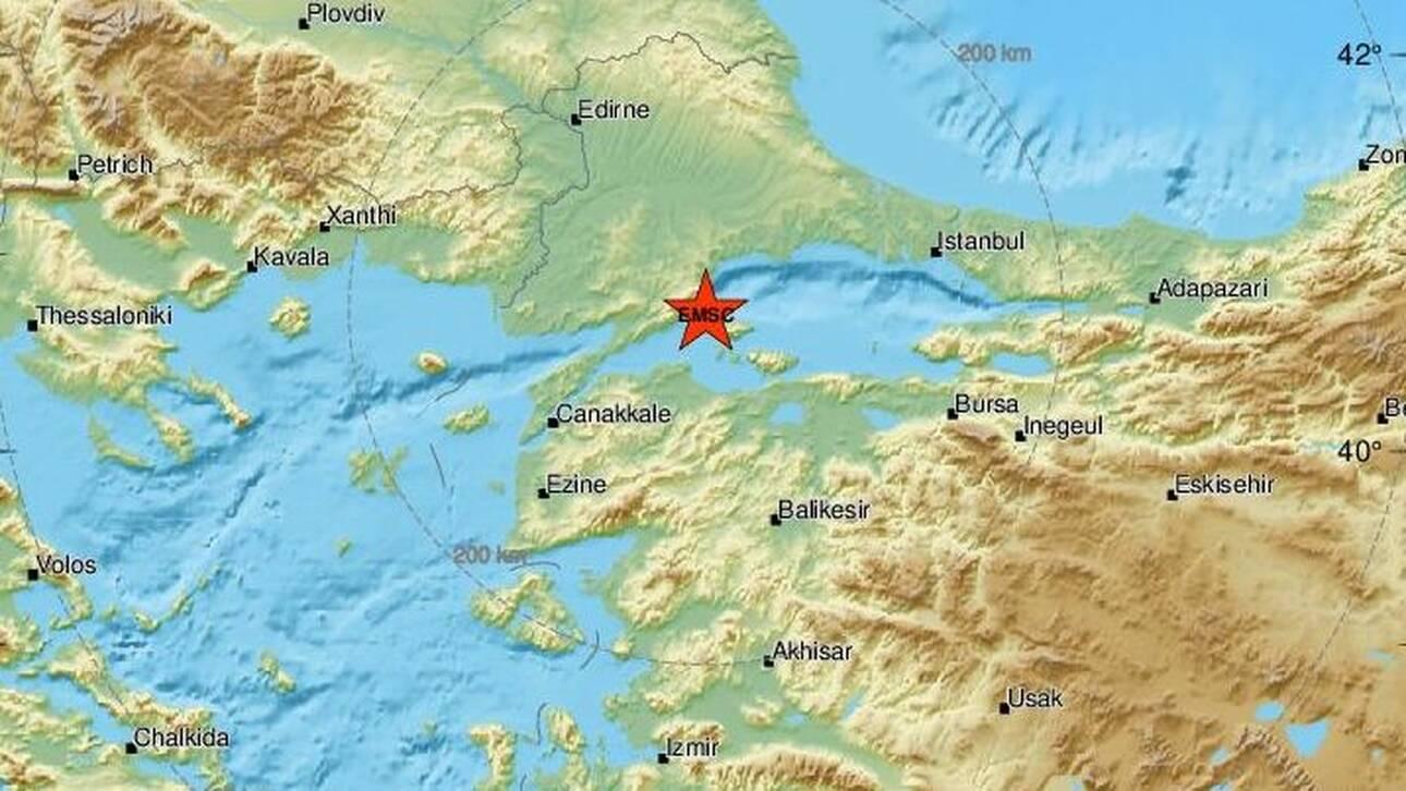 Σεισμός στη Θάλασσα του Μαρμαρά - Αισθητός και στην Θράκη
