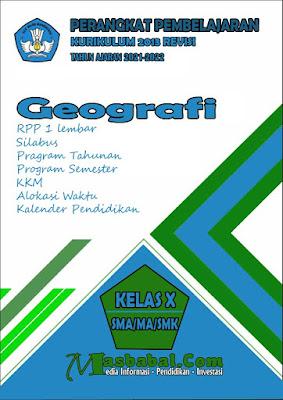 Perangkat Pembelajaran Geografi Kurikulum 2013 Revisi Terbaru
