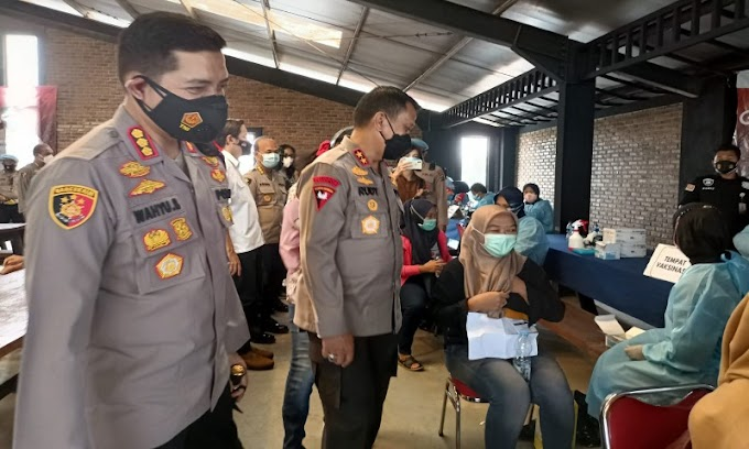 Serikat Pekerja Apresiasi Langkah Cepat Vaksinasi Polda Banten Bagi Buruh