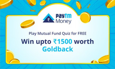 Paytm Money Mutual Fund Quiz Answers