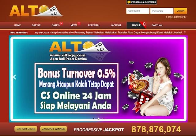 Manfaatkan Promo Bonus dari ALTOQQ , Menguntungkan!