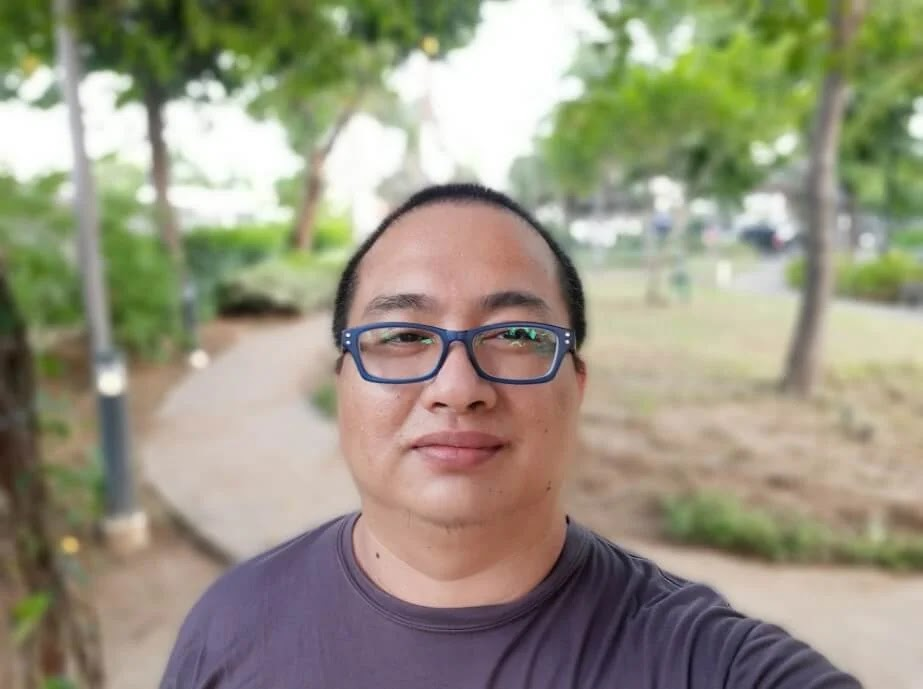Samsung Galaxy M31 Camera Sample - Selfie, Live Focus, Wide
