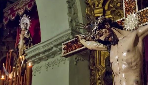 El Santísimo Cristo de la Salud de Jerez de la Frontera será retirado del culto el viernes 9 de abril