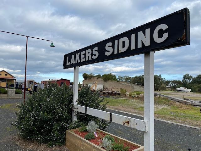 Bellarine Railway, Queenscliff Lakers Siding