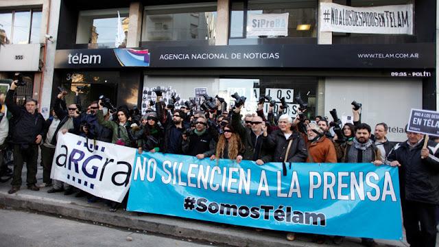 Argentina: La Justicia declaró ilegales los despidos en la agencia de noticias Télam