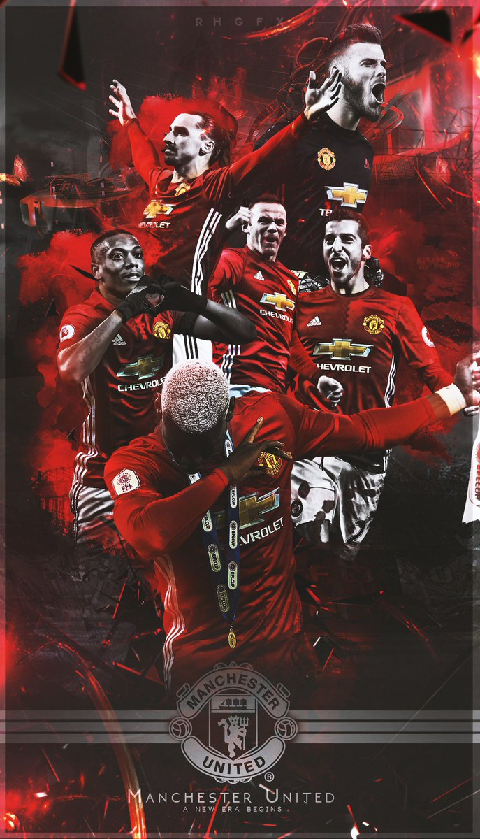 Man United Wallpaper Iphone