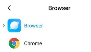 Cara Mengganti Browser Bawaan Redmi Xiaomi Menjadi Google Chrome