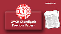 GMCH Chandigarh Sr Resident Previous Papers