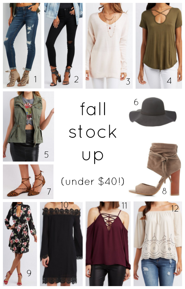 Fall sale under $25
