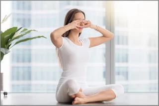 Easy and Effective Yoga Poses to Sleep Fast - Bee Breathing Yoga