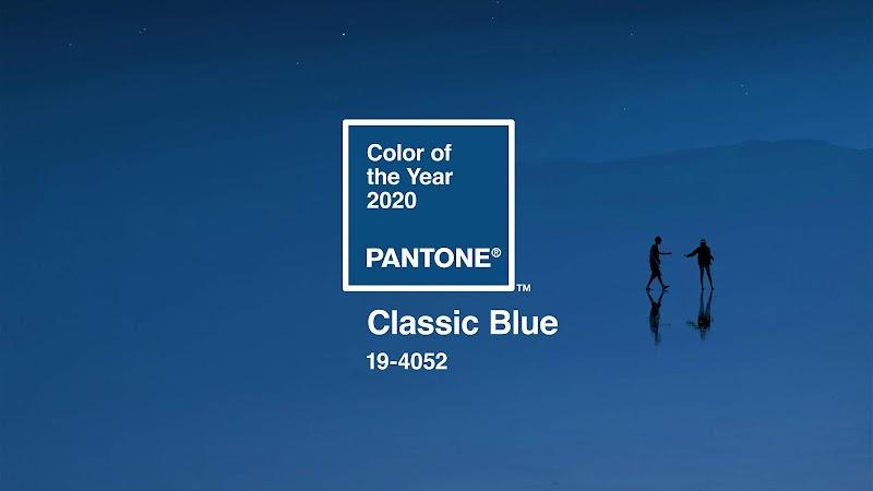 2020年代表色「經典藍」擔綱重任:一個平易近人的顏色,誰會討厭這個浪漫且舒適的藍色呢?