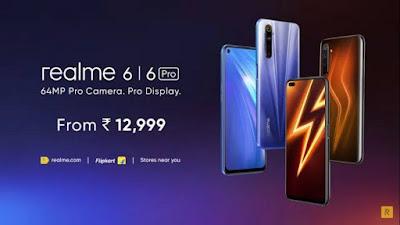 هاتفين Realme 6 و Realme 6 Pro