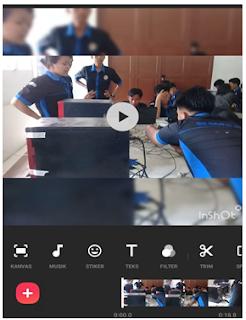 Aplikasi Inshot merupakan aplikasi untuk mengedit gambar ataupun foto menjadi video dan bisa juga untuk mengedit video. Aaplikasi Inshot ini merupakan aplikasi edit video yang terpopuler saat ini dan paling banyak digunakan karena memiliki banyak fitur yang berfungsi untuk mempemudah dalam proses pengeditan atau pembuatan video dengan aplikasi ini.    Fitur - Fitur Pada Aplikasi Inshot    1. Fitur Backround  2. Fitur Musik  3. Insert Teks dan Stiker  4. Kontrol Kecepatan Video  5. Memotong Video  6. Membuat Stiker Bergerak  7. Filter dan Efek Video  8. Setting Rasio Video  9. Menggabungkan Video  10. Kompres Video     Diakibatkan Covid-19 banyak masyarakat menggunakan aplikasi Inshot khususnya dibagian pendidikan. Alasan peserta didik dan guru menggunakan aplikasi Inshot karna lebih mudah di aplikasikan dan mudah dimengerti oleh orang yang menerima Pembelajaran Daring.     Di dalam aplikasi Inshot guru dapat memasukkan point-point pembelajaran yang akan disampaikan kepada peserta didik, sehingga Peserta didik mudah memahami apa yang harus dikerjakan. Kurang lebih satu bulan sekolah-sekolah melakukan Pembelajaran Daring karna Wabah Covid-19.     Nah, dalam artikel tigaribu.net akan menyajikan bagaimana cara menggunakan aplikasi Inshot anda tidak kesulitan untuk membuat video yang menarik dan mudah dimengerti oleh peserta didik anda.       Bagaimana cara Menggunakan Aplikasi Inshot ?      Sipps, silahkan ikuti cara – cara berikut yah . . .    1. Cara membuat Video dari Gambar di Aplikasi Inshot  Download Aplikasi Inshot di Play Store Android Aplikasi Inshot merupakan aplikasi untuk mengedit gambar ataupun foto menjadi video dan bisa juga untuk mengedit video. Aaplikasi Inshot ini merupakan aplikasi edit video yang terpopuler saat ini dan paling banyak digunakan karena memiliki banyak fitur yang berfungsi untuk mempemudah dalam proses pengeditan atau pembuatan video dengan aplikasi ini.    Fitur - Fitur Pada Aplikasi Inshot    1. Fitur Backround  2. Fitur Musik  3. Ins