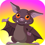 Play Games4King  Bat Rescue Escape