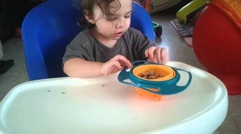 """""""جيرو باول"""".. وعاء يحمي الطعام من عبث الأطفال"""