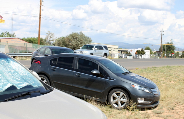 Off roading in a Chevy Volt