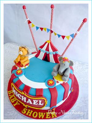 tarta y galletas circus