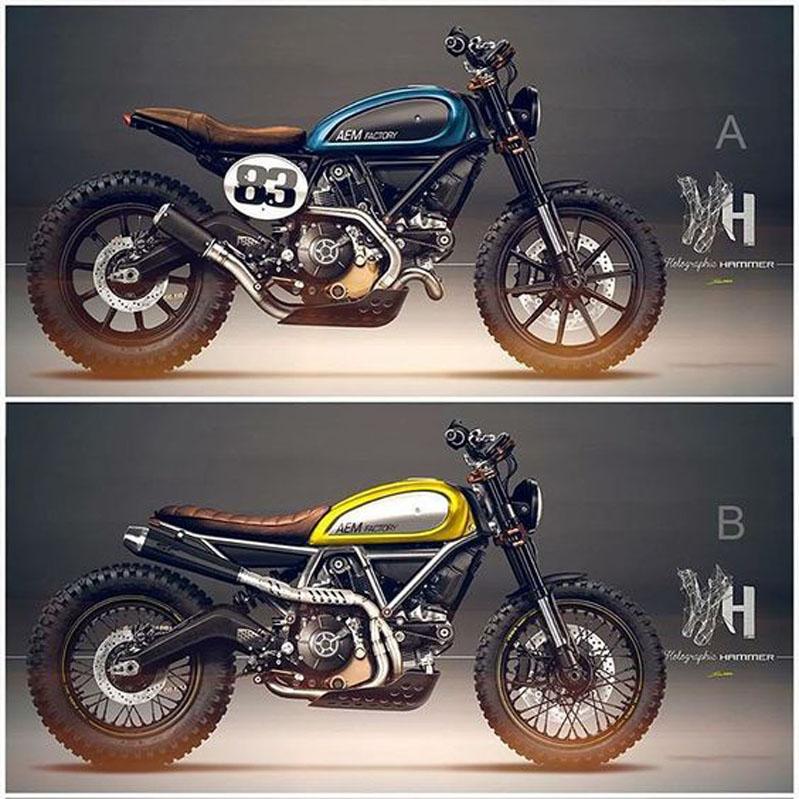 Motorcycle Parts In Germantown Mail: Generation Bobber: Ducati Scrambler Umbau/Custom