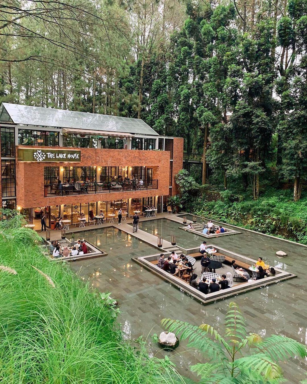 Tempat Favorit Kuliner Puncak Bogor The Lake House