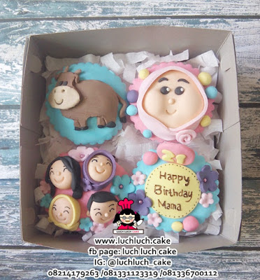 Cupcake Untuk Mama Tema Sapi