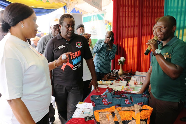 Shirika la AGPAHI lilivyoshiriki maadhimisho ya Ukimwi kitaifa jijini Mwanza