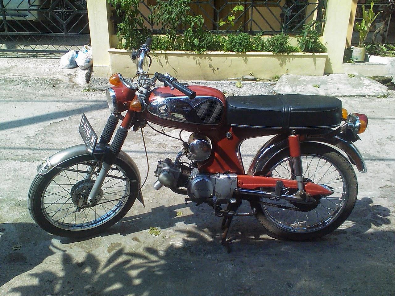 Berikut Ini Saya Kumpulkan Beberapa Koleksi Gambar Sepeda Motor Lawas