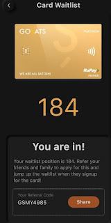 Bitcoin Reward Card Waiting List