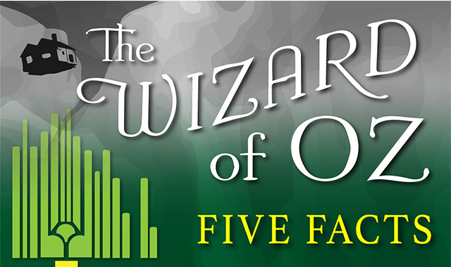 Five Facts: The Wizard Of OZ #infographic