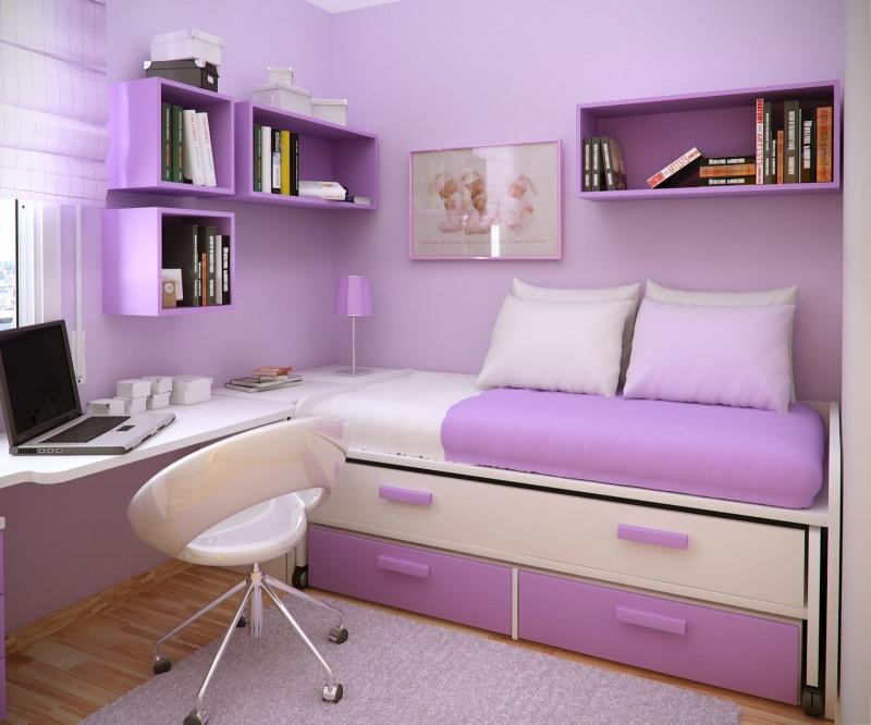 Trend Homes: Cool Purple Girl Bedrooms Design on Cool Bedroom Ideas  id=72124