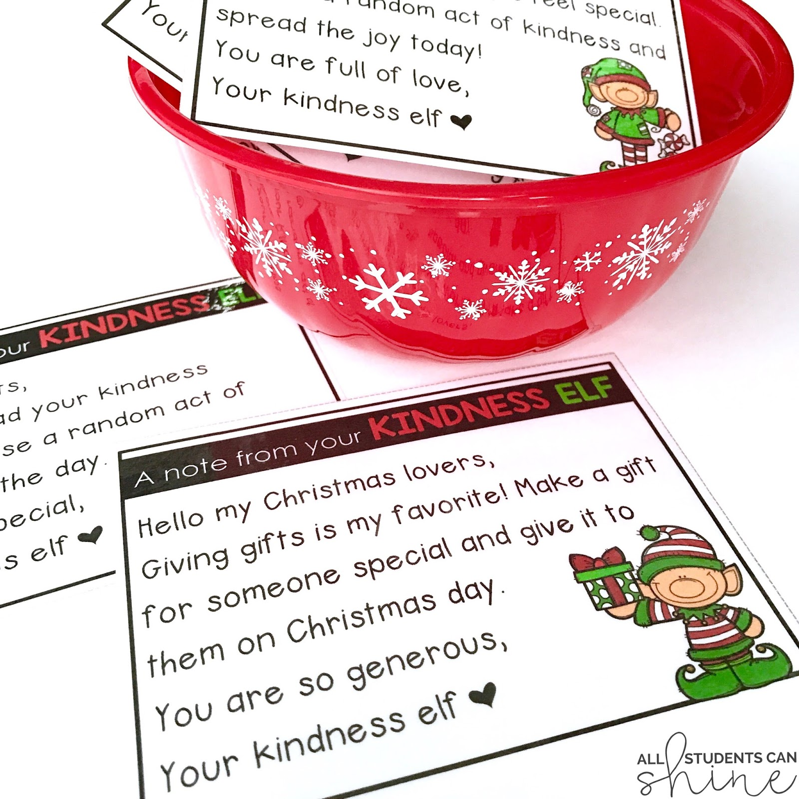 Kindness Elf Freebie